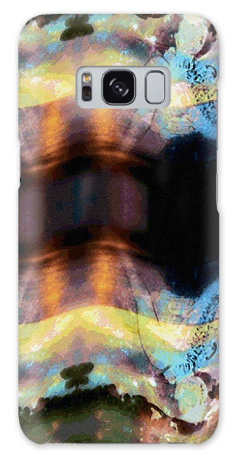 Rainbow Colors Digital Galaxy Case featuring the photograph Aia Aku Aia Mai by Kenneth Grzesik