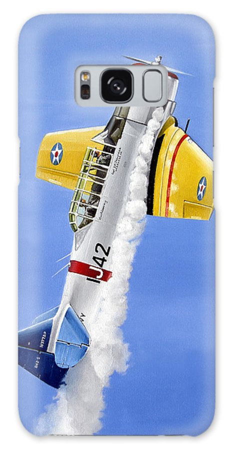 Military Galaxy S8 Case featuring the painting Air Show by Marc Stewart