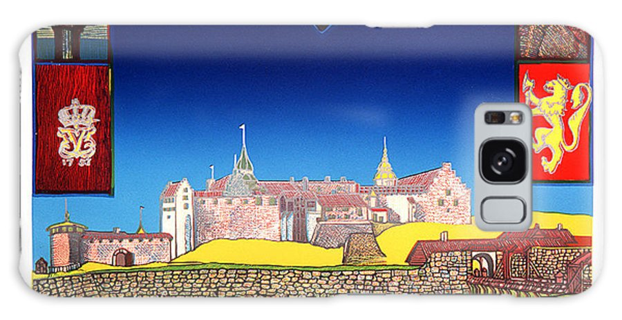 Historic Galaxy Case featuring the mixed media Akershus Festning -akershusfortress by Jarle Rosseland