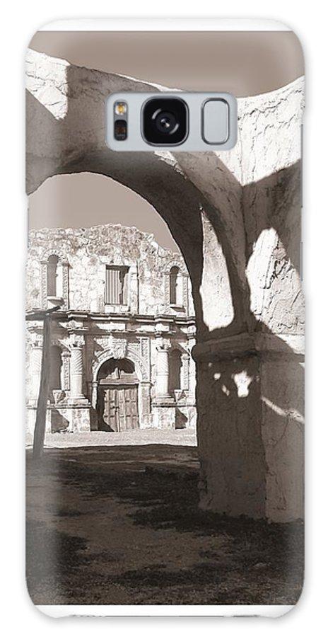 Alamo Galaxy S8 Case featuring the photograph Alamo Through Time by Mona Davis