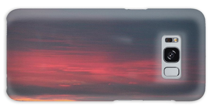 Galaxy S8 Case featuring the photograph Alaska Sunset by Susan Saddler
