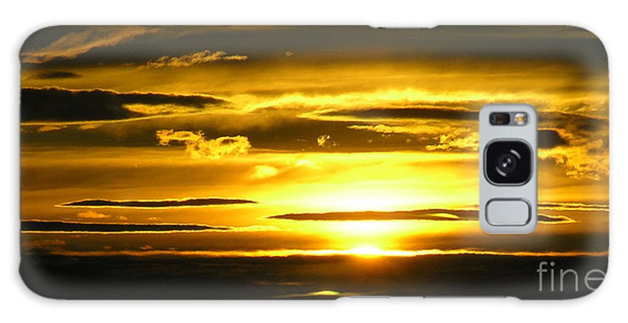 Sunset Galaxy S8 Case featuring the photograph Alaskan Sunset by Louise Magno