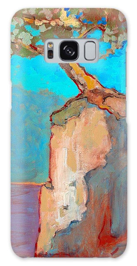 Tree Galaxy S8 Case featuring the painting Albero by Kurt Hausmann