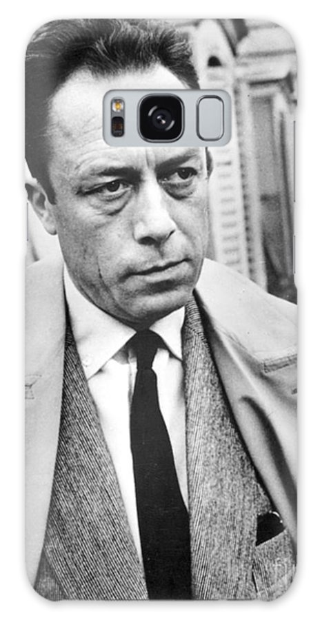 20th Century Galaxy Case featuring the photograph Albert Camus (1913-1960) by Granger