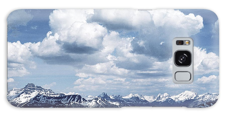 Rocky Mountains Galaxy S8 Case featuring the photograph Alberta Mountain Panorama by Steve Somerville