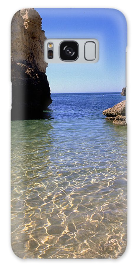 Algarve Galaxy S8 Case featuring the photograph Algarve I by Flavia Westerwelle