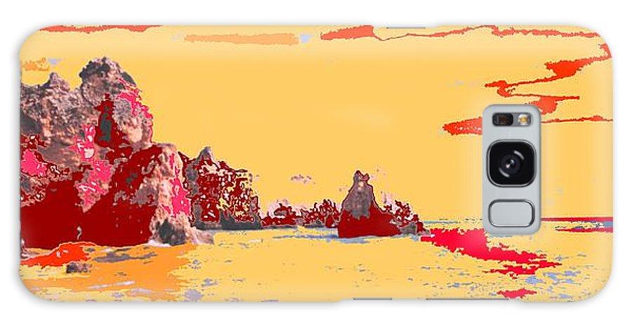 Mediterranean Galaxy S8 Case featuring the photograph Algarve Sunrise by Ian MacDonald