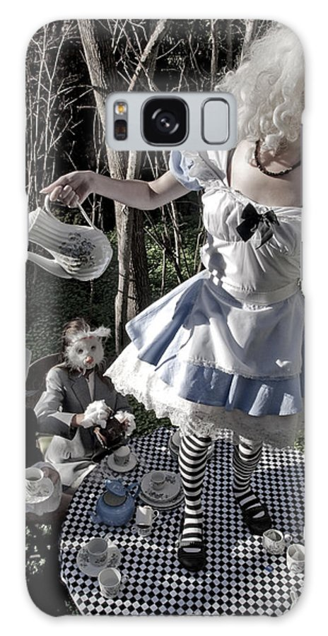 Alice In Wonderland Galaxy S8 Case featuring the photograph Alice And Friends 1 by Kelly Jade King