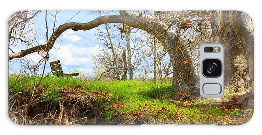 Spring Landscape Galaxy S8 Case featuring the photograph Alice's Wonderland by Carol Groenen