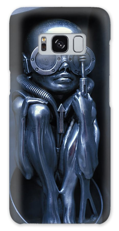 Alien Galaxy S8 Case featuring the photograph Alien Baby By Giger by Carl Purcell