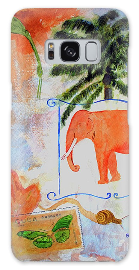 Animal Galaxy S8 Case featuring the painting All Creatures Great And Small by Sandy McIntire