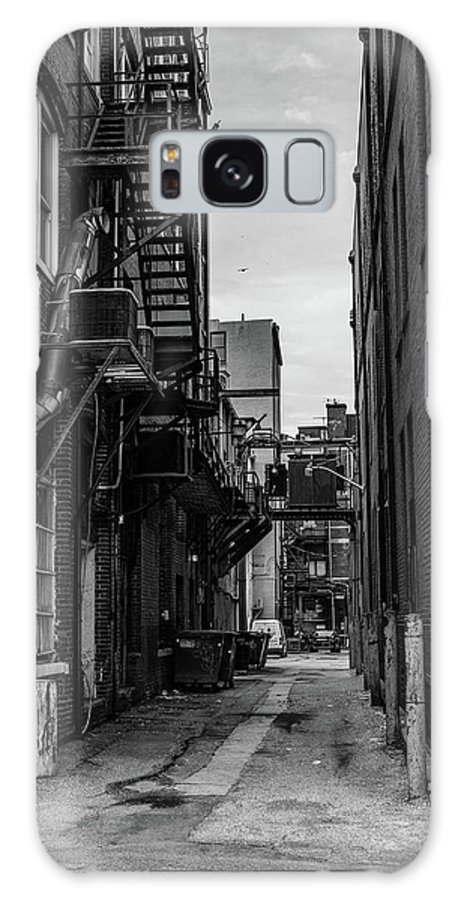 Alley Galaxy S8 Case featuring the photograph Alleyway II by Break The Silhouette