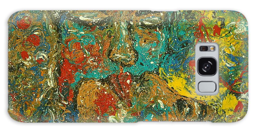 Romantic Galaxy S8 Case featuring the painting Allure Of Love by Natalie Holland