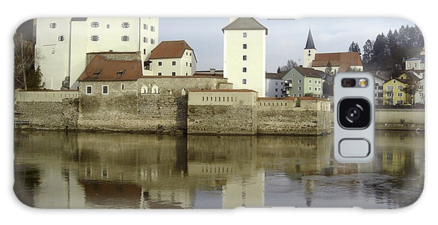 River Galaxy Case featuring the photograph Along The Danube by Mary Rogers