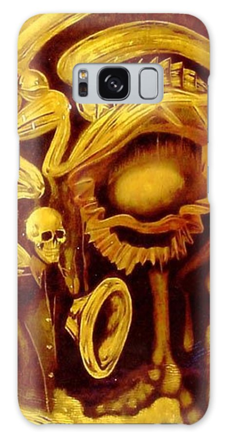Birth Galaxy S8 Case featuring the painting Alpha Omega by Will Le Beouf