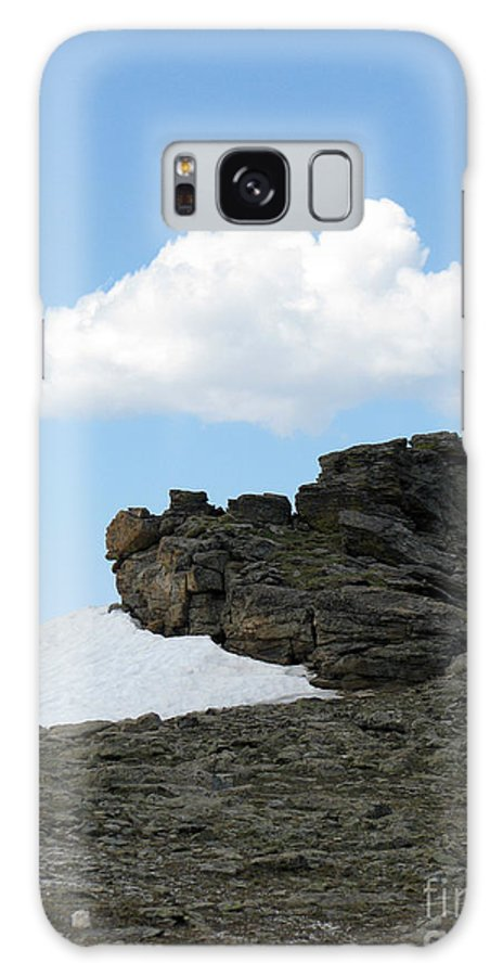 Rocky Mountains Galaxy S8 Case featuring the photograph Alpine Tundra - Up In The Clouds by Amanda Barcon