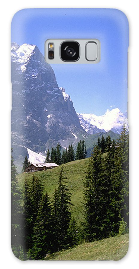 Alps Galaxy S8 Case featuring the photograph Alps by Flavia Westerwelle