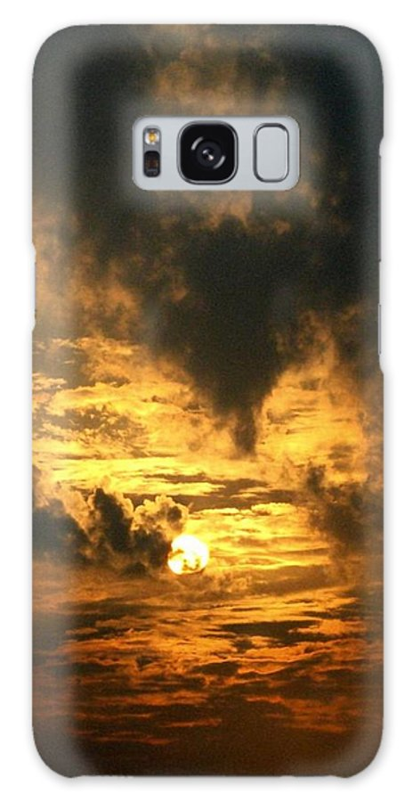 Daybreak Galaxy S8 Case featuring the photograph Alter Daybreak by Rhonda Barrett