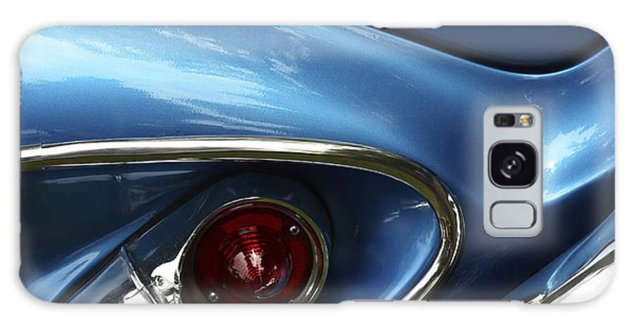 Classic Car Galaxy S8 Case featuring the photograph Am I Blue by Rebecca Cozart