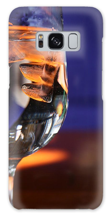 Water Galaxy S8 Case featuring the photograph Amber Ice by JoJo Photography