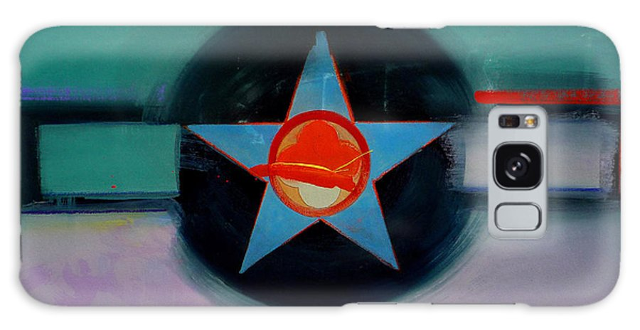 Star Galaxy S8 Case featuring the painting American Landscape by Charles Stuart