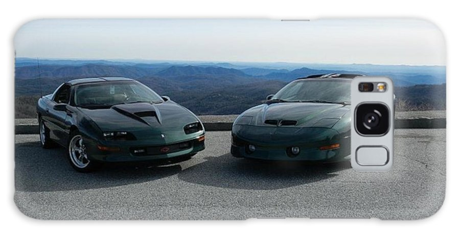 Blue Ridge Parkway Galaxy S8 Case featuring the photograph American Muscle Cars by Dan Ya