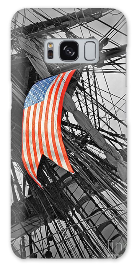 Herminoe Galaxy S8 Case featuring the photograph American Ropes Of Wind by Jost Houk