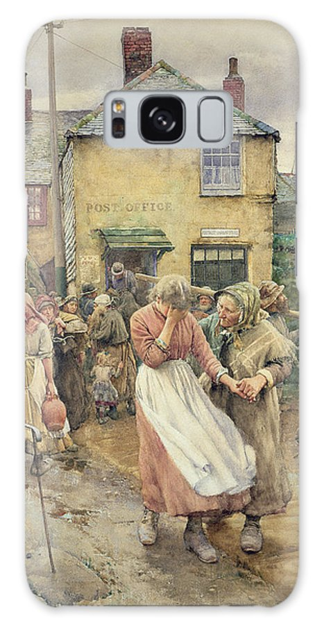 Among The Missing Galaxy S8 Case featuring the painting Among The Missing by Walter Langley