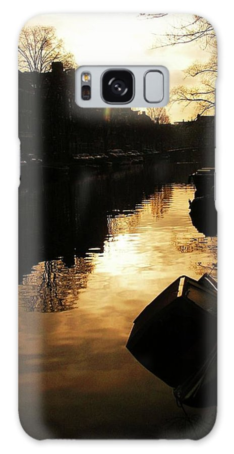 Landscape Galaxy S8 Case featuring the photograph Amsterdam Netherlands by Louise Macarthur Art and Photography