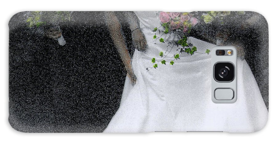 Wedding Galaxy S8 Case featuring the photograph An Intimate Moment At The Wedding by Wayne King