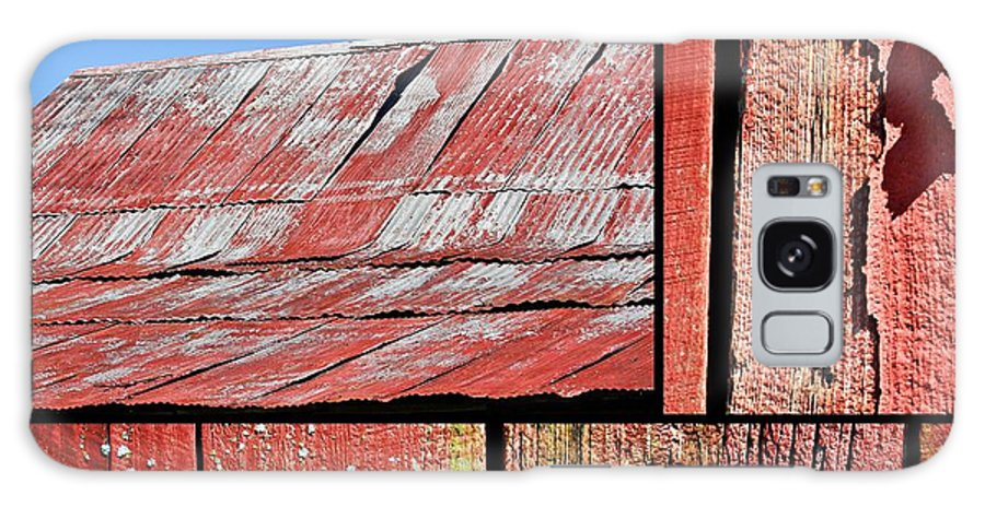 Barn Galaxy S8 Case featuring the photograph Anatomy Of An Old Barn- Fine Art by KayeCee Spain