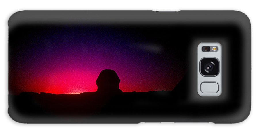 Sphinx Galaxy S8 Case featuring the photograph Ancient Evenings by Gary Wonning
