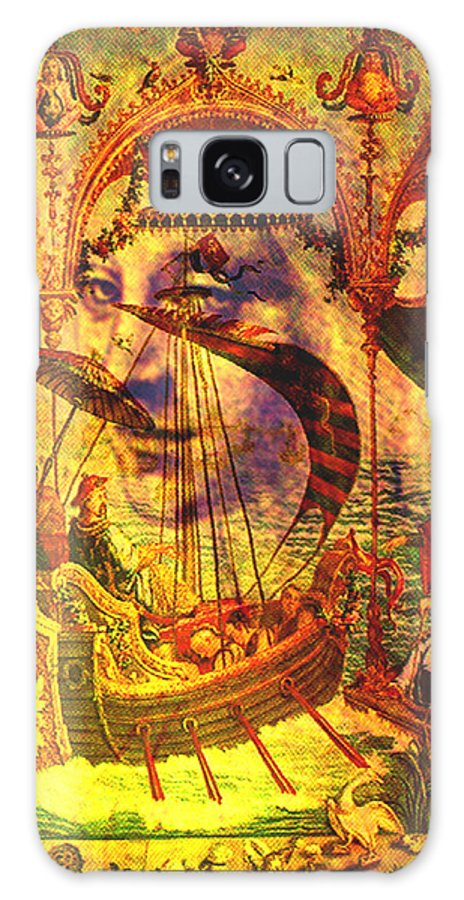 Ancient Galaxy S8 Case featuring the digital art Ancient Of Days by Seth Weaver