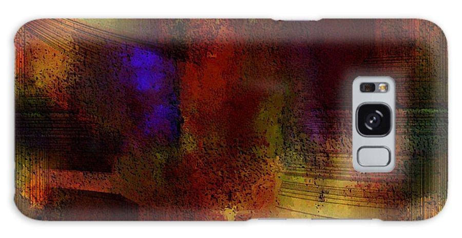 Digital Galaxy Case featuring the digital art Ancient Palace by Ilona Burchard