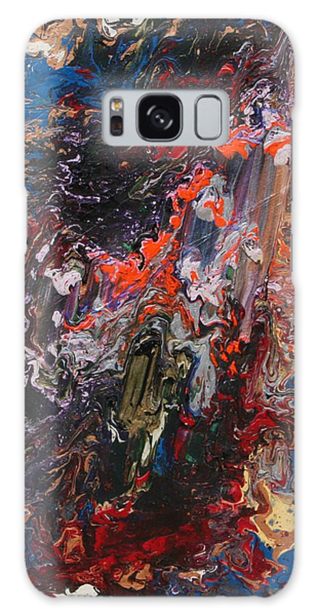 Fusionart Galaxy Case featuring the painting Angel Rising by Ralph White