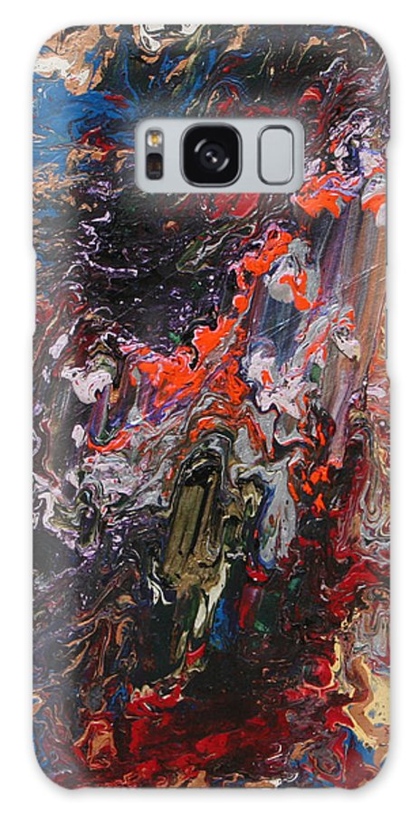 Fusionart Galaxy S8 Case featuring the painting Angel Rising by Ralph White