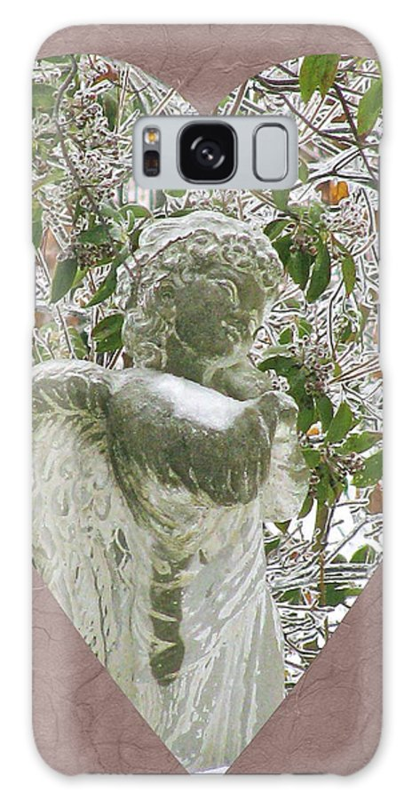 Angels Of The Snow (b) Galaxy S8 Case featuring the photograph Angels Of The Snow B by Debra   Vatalaro