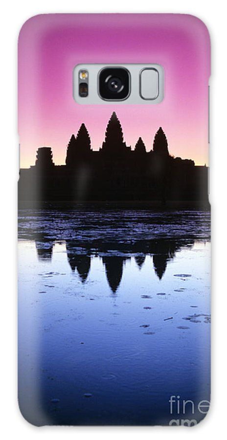 Ancient Galaxy S8 Case featuring the photograph Angkor Wat by Gloria & Richard Maschmeyer - Printscapes