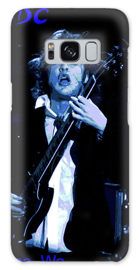 Ac Dc Galaxy S8 Case featuring the photograph Angus The Problem Child In Spokane by Ben Upham