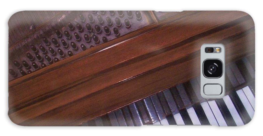 Piano Galaxy S8 Case featuring the mixed media Anita's Piano 1 by Anita Burgermeister