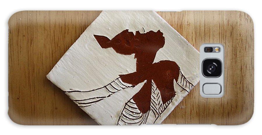 Jesus Galaxy S8 Case featuring the ceramic art Anne Marie - Tile by Gloria Ssali