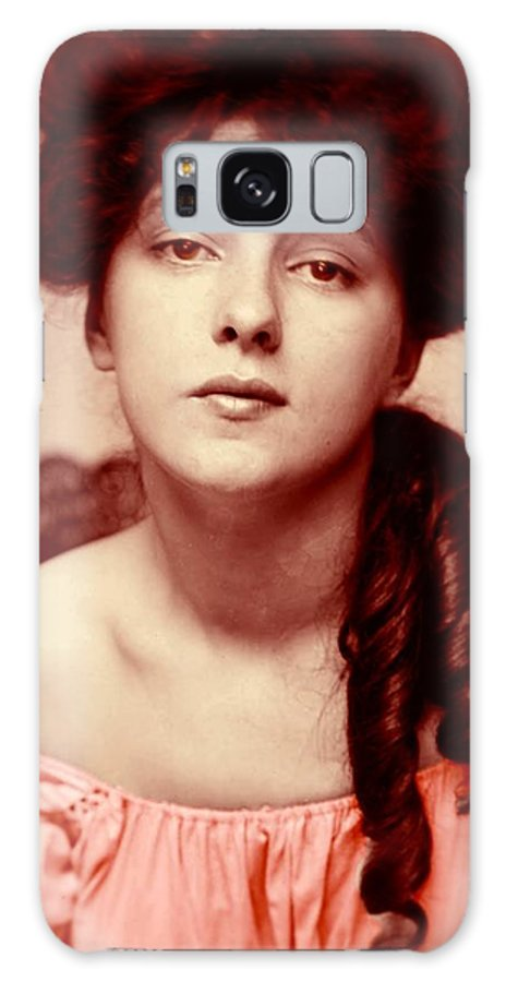 Girl Galaxy S8 Case featuring the photograph Anno 1903 by Steve K
