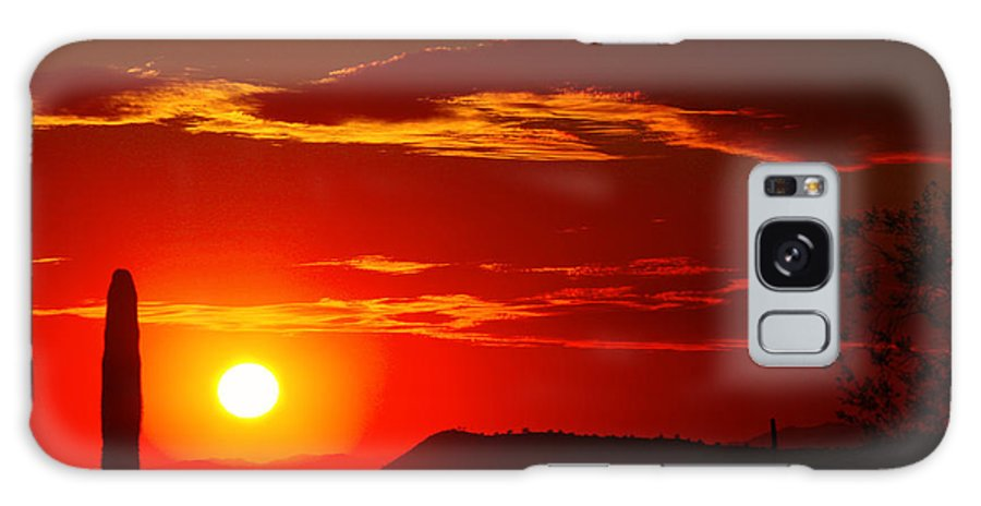 Sunset Galaxy S8 Case featuring the photograph Another Beautiful Arizona Sunset by James BO Insogna