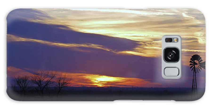 Sun Galaxy Case featuring the photograph Another Day Is Gone by Larry Keahey