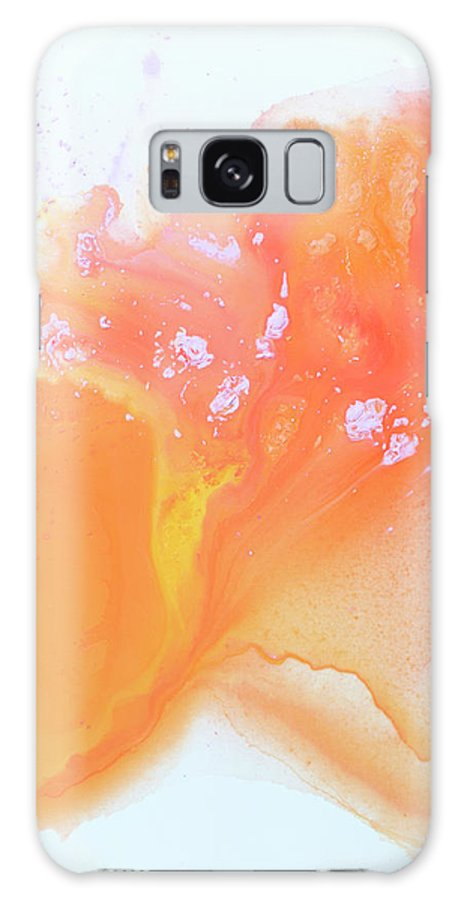 Abstract Galaxy S8 Case featuring the painting Another Love by Claire Desjardins