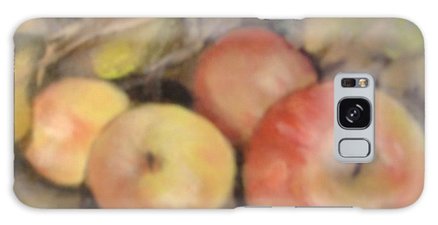 Fruit Galaxy S8 Case featuring the painting Apples by Pat Snook
