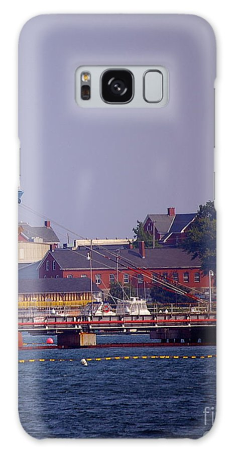 Aqua Galaxy S8 Case featuring the photograph Aqua In Dock by Faith Harron Boudreau