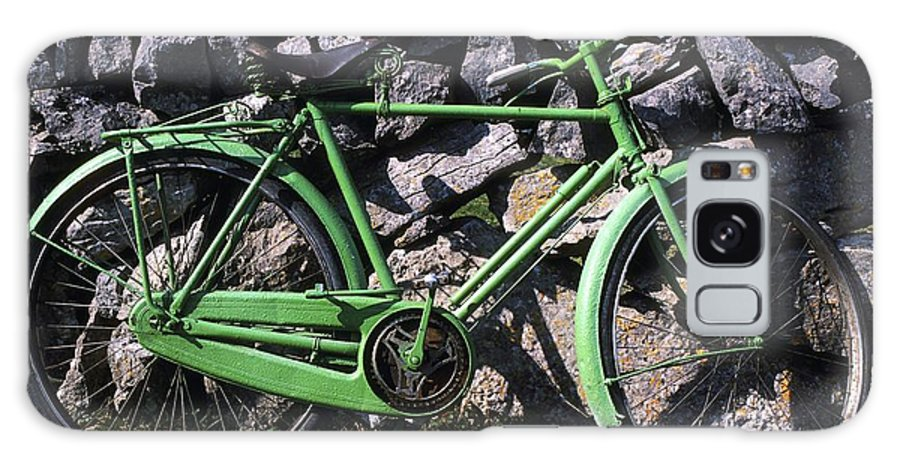 Bicycle Galaxy S8 Case featuring the photograph Aran Islands, Co Galway, Ireland Bicycle by The Irish Image Collection