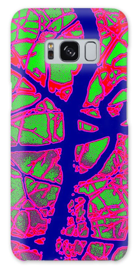 Abstract Galaxy S8 Case featuring the digital art Arbor Mist 2 by Tim Allen