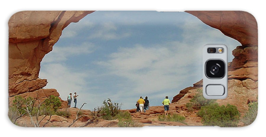 Arches National Park Galaxy S8 Case featuring the photograph Arches Formation 38 by Dawn Amber Hood